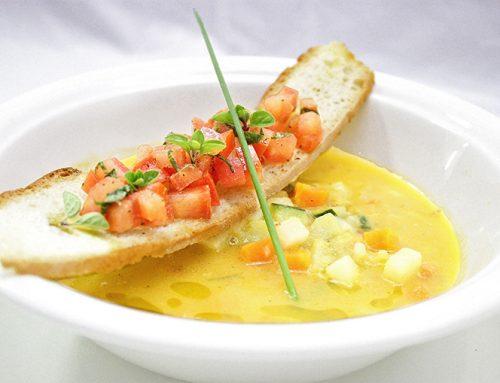 Ανοιξιάτικη Σούπα με πολύχρωμα Λαχανικά και έξτρα Παρθένο Ελαιόλαδο Χρυσελιά που θα λατρέψουν τα παιδιά
